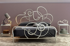 Letto Jazz color champagne
