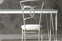 Sedia Altea bianco confetto